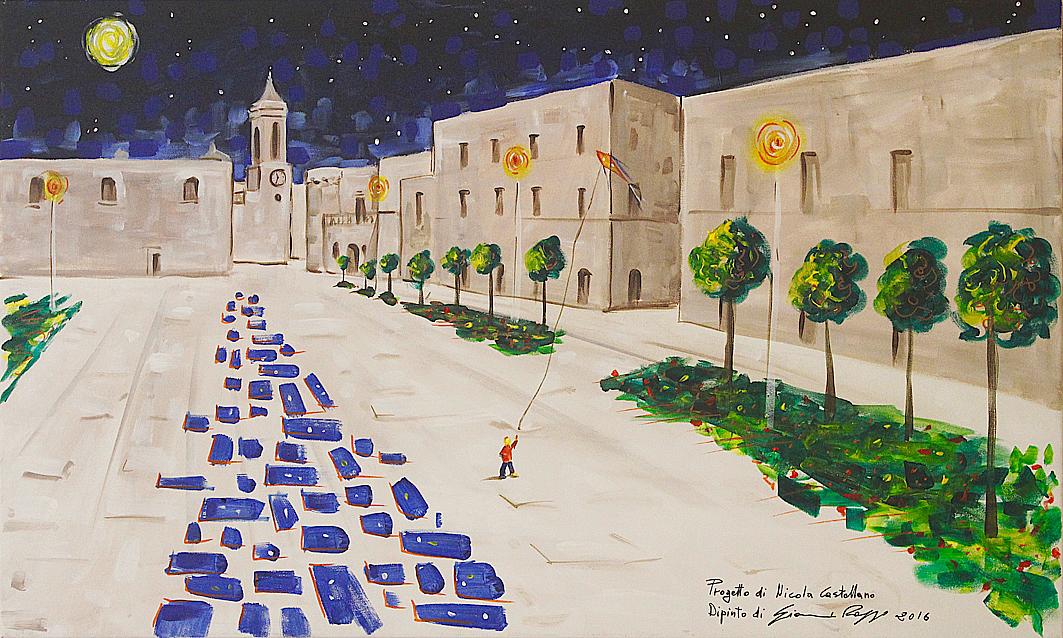 riqualificazione urbana Bitritto Bari dipinto Gianni Roppo Bitritto Futura BitrittoLive